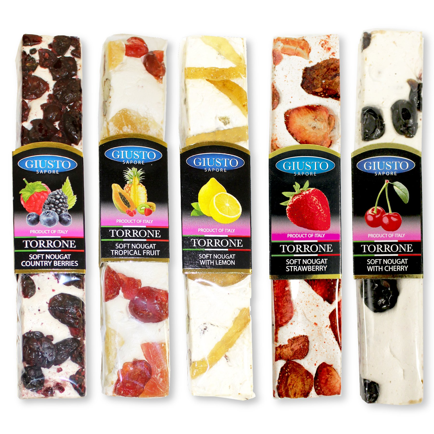 Amazon.com : Ferrara Torrone, Almond Honey Nougat Candy, 7 ... |Torrone Italian Candy With Fruit