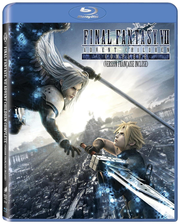 Final Fantasy VII: Advent Children [Blu-ray] (Bilingual) Tetsuya Nomura Shinji Hashimoto Yoshinori Kitase