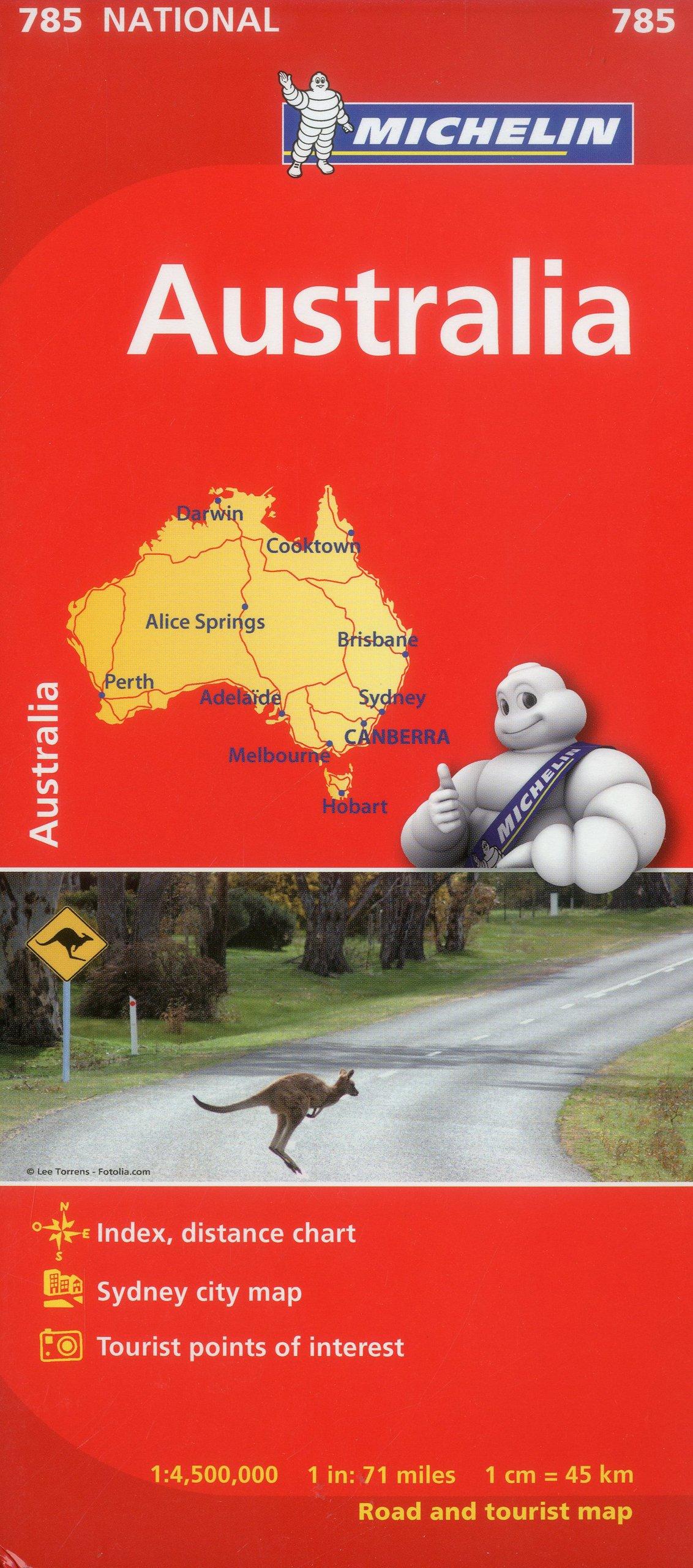australia map 785