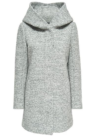 moins cher c5e81 2831c Only Onlindie Noma Wool Coat CC OTW Manteau Femme: Amazon.fr ...