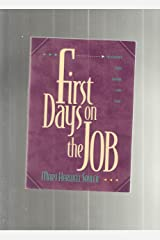 First Days on the Job: Devotions That Work for You Paperback