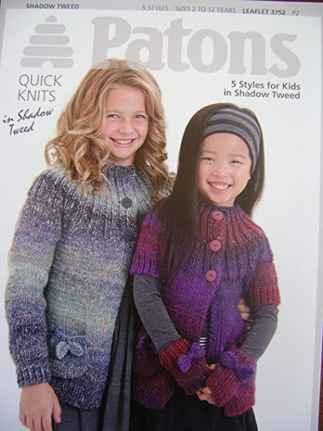 Patons Knitting Pattern Book 15 Quick Knit Styles For Kids In