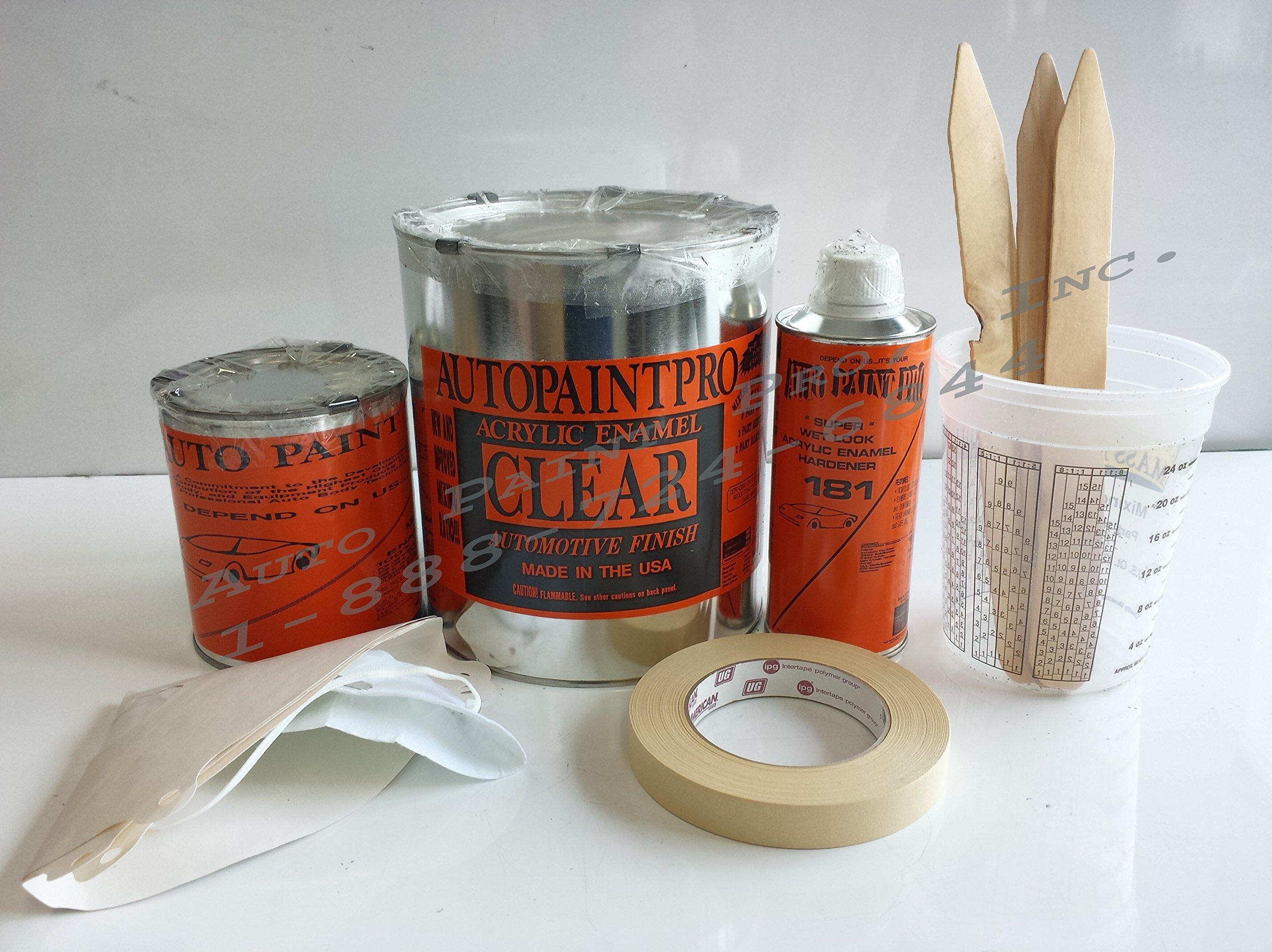 Auto Paint Acrylic Enamel Clear Coat Kit