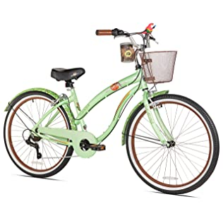 Margaritaville Coast Is Clear Women's Beach Cruiser Bike