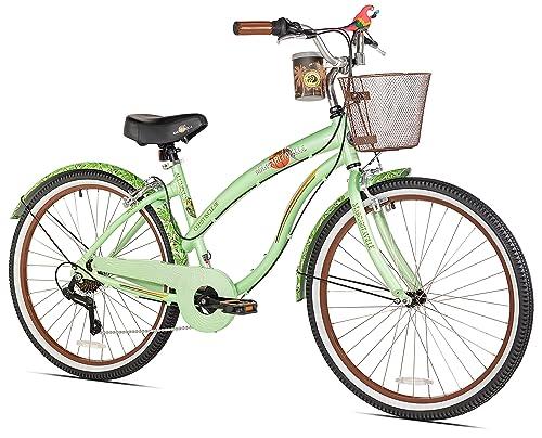 Margaritaville Coast Is Clear Women's Beach Cruiser Bike