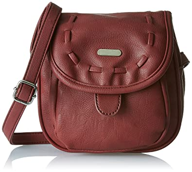 a3a10ad0dba Lavie Women s Sling Bag (Plum)  Amazon.in  Shoes   Handbags