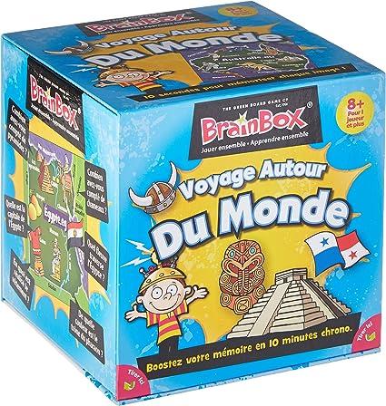 Brain Box - Juego de Memoria Voyage autour du Monde en francés (47193303)