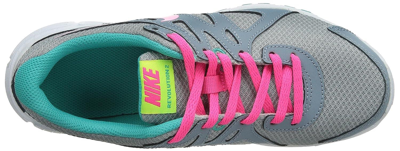 pretty nice c1b2b c6e59 Nike Revolution 2 GS - Zapatillas para niña, color grisazul  rosablanco,  talla 37.5 Amazon.es Zapatos y complementos