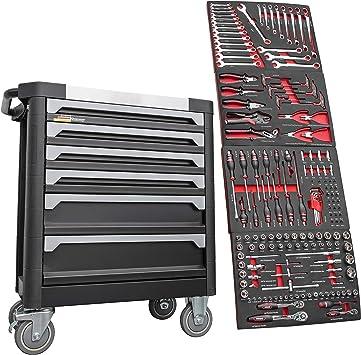 F-BD Black Red Edition | Caja de herramientas para taller con 6 ...