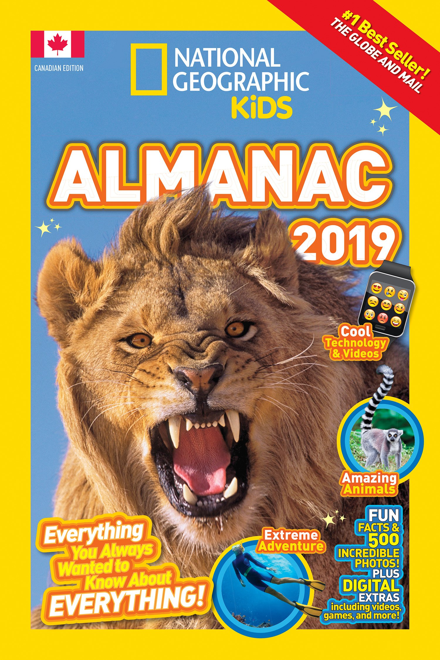 National Geographic Kids Almanac 2019, Canadian Edition (National Geographic Almanacs) ebook