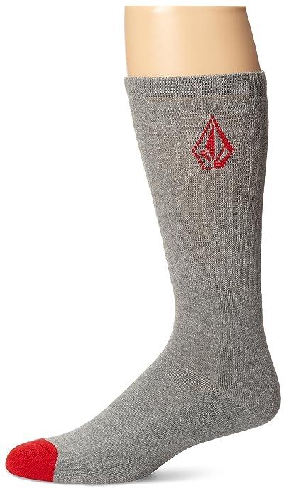 Volcom – Calcetines para hombre, piedra, color Gris, talla
