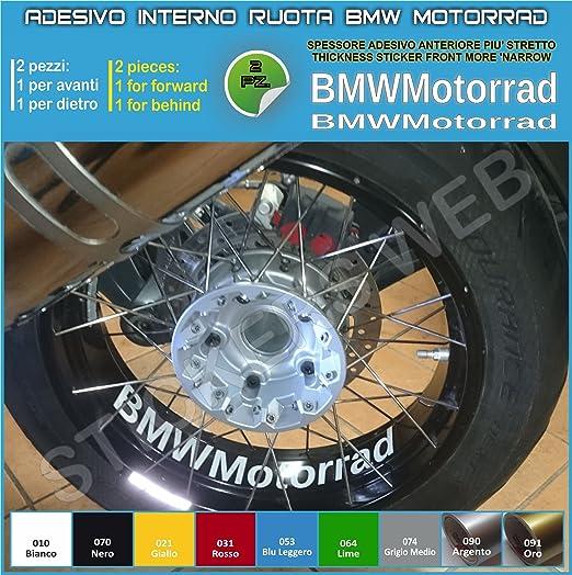 BMW Motorrad R1200GS F800GS pegatinas para el interior de las ruedas Cod. 0282 010 Bianco