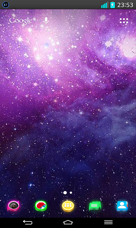 Amazoncom Apps Wallpaper Galaxy 3d Live Wallpaper Appstore For