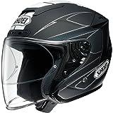 ショウエイ(SHOEI) バイクヘルメット ジェットJ-FORCE4 MODERNO (モデルノ) TC-5 (BLACK/WHITE) XL (頭囲 61cm)