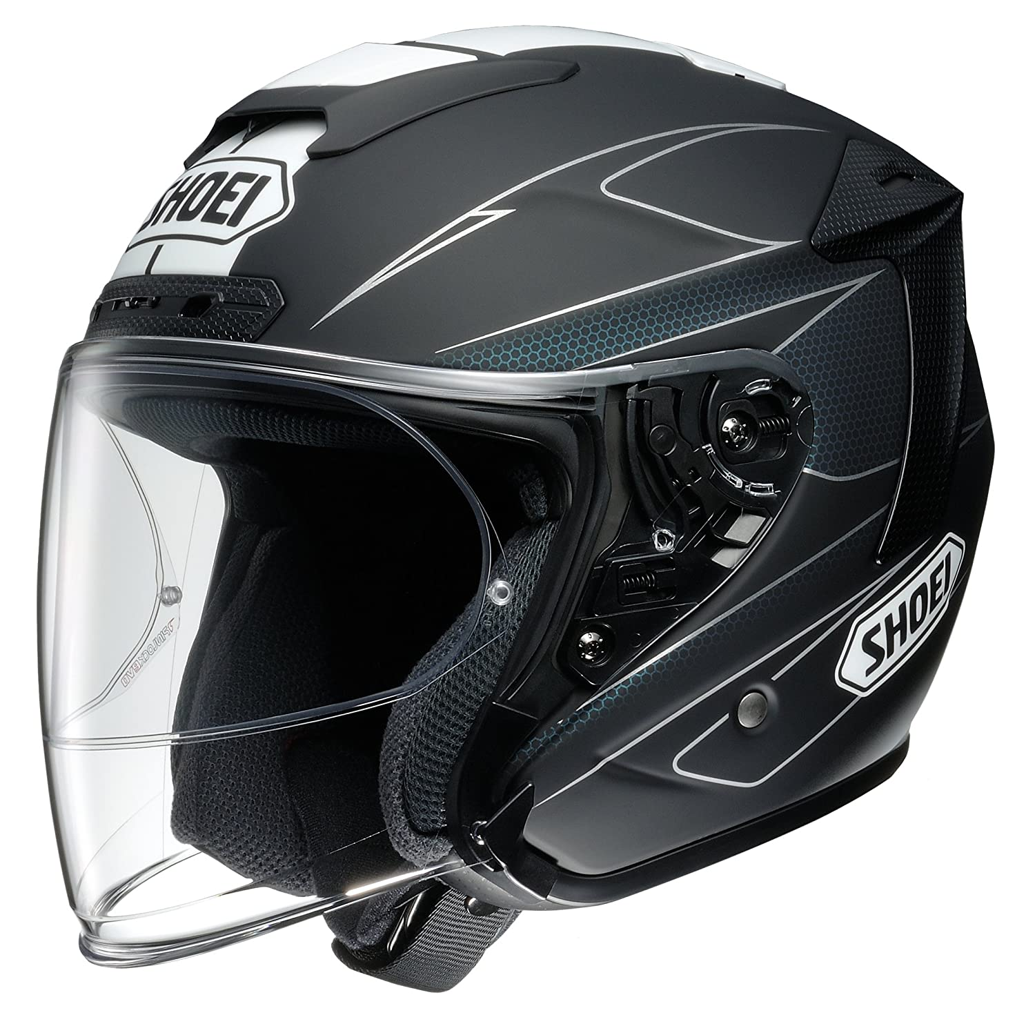 ショウエイ(SHOEI) J-FORCE4 MODERNO (モデルノ) TC-5 (BLACK/WHITE) XXL(63cm)