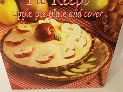 Apple Pie Plate with Cover & Amazon.com: Apple Pie Plate with Cover: Pie Pans: Kitchen \u0026 Dining