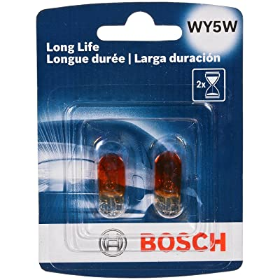 Bosch Automotive WY5WLL Light Bulb, 2 Pack: Automotive