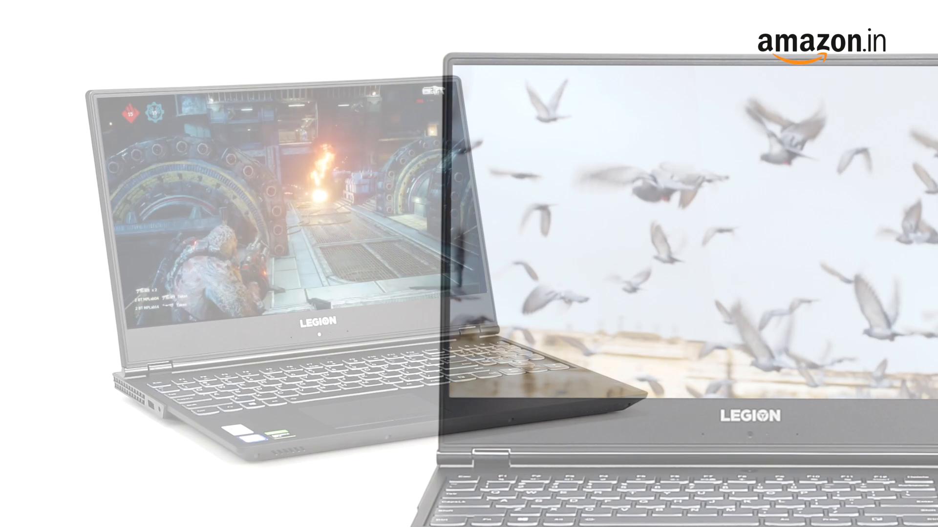Lenovo Legion Y540 9th gen Intel Core i7 15.6-inch FHD Gaming Laptop (16GB/1TB SSD/Windows 10/NVIDA GTX 1650 4GB/Black/2.3Kg), 81SY00EVIN