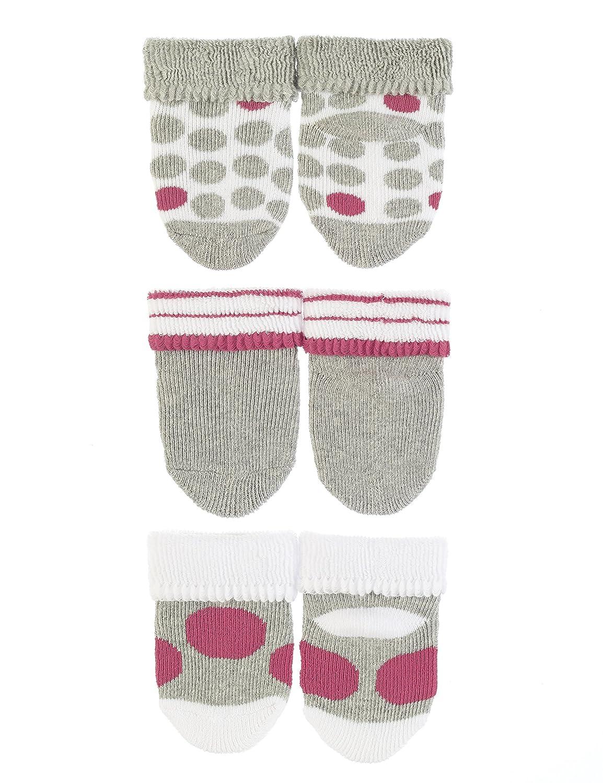 Sterntaler Unisex Baby Socken Erstlingss/öck 3er-Pack Sterne