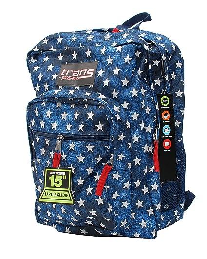 82f95f21f0ac Amazon.com  Trans by Jansport Supermax Multi Stars Backpack ...