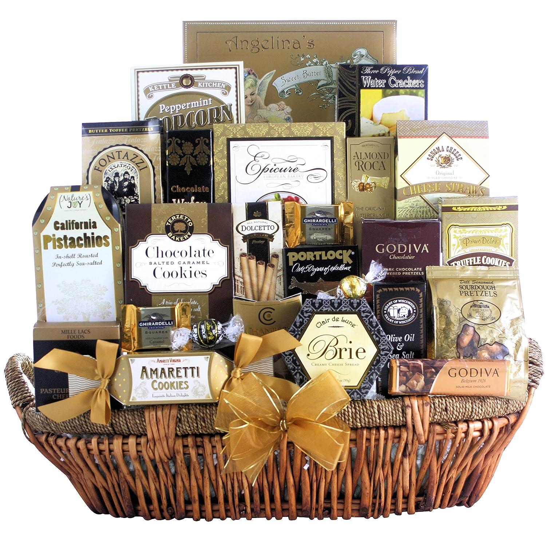 great arrivals chagne gift basket