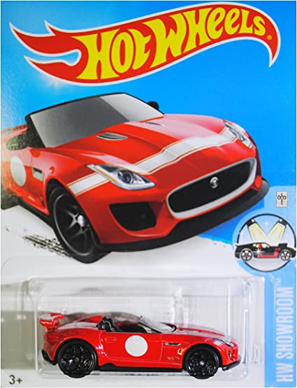 Hot Wheels 2017 Exotics 15 Jaguar F-Type Project 7 negro