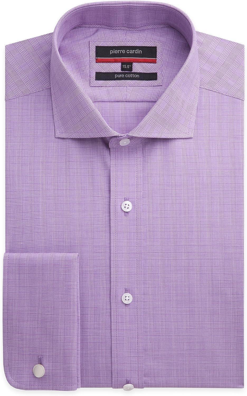 Pierre Cardin - Camisa formal - Cuadrados - para hombre Rojo ...