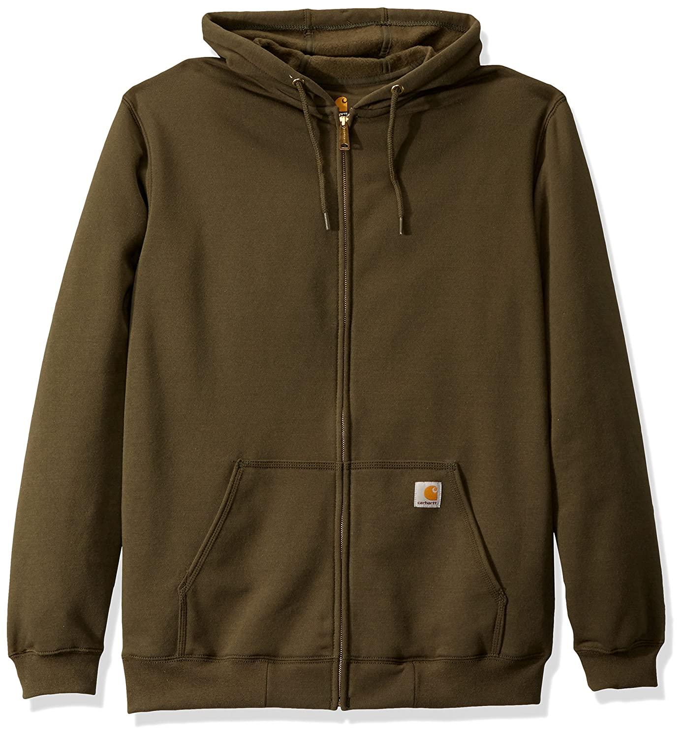 Carhartt Men's Big & Tall Midweight Zip Front Hooded Sweatshirt K122 K122BT