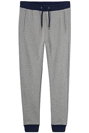 Homme De Jogging Grey Gris Find navymid Heather Ajusté Pantalon qPIHHw4