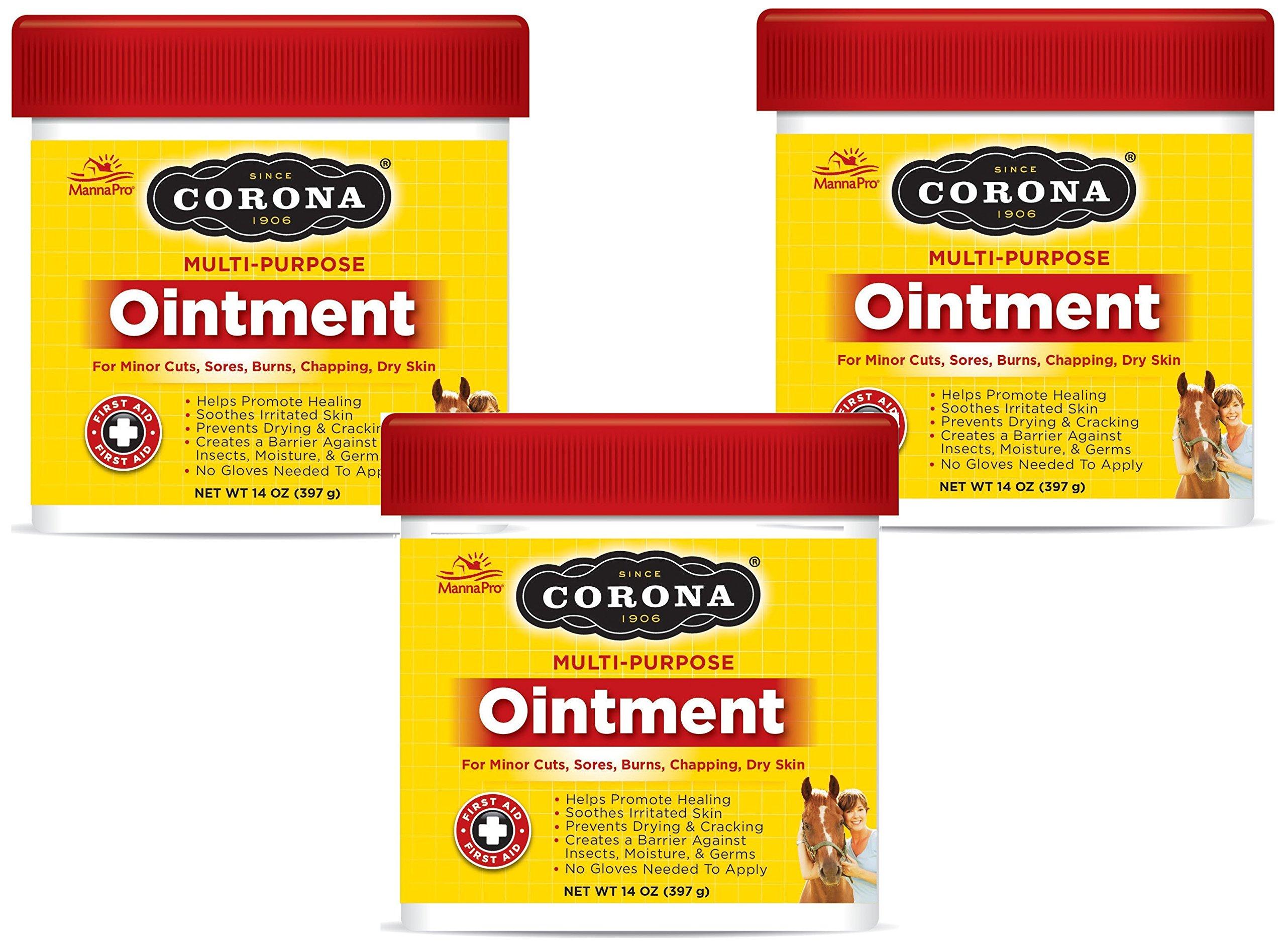 Corona Ointment 14 Oz., Jar (Pack of 3)