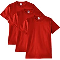Fruit of the Loom Men's Heavy T-Shirt Pack of 3