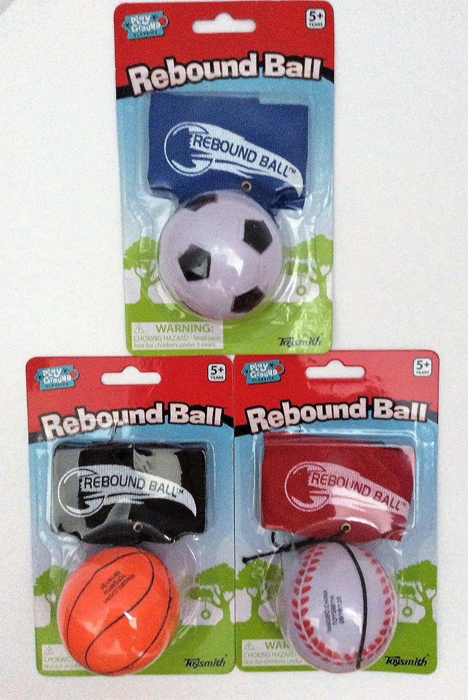 Nightzone light up rebound ball - Amazon Com Toysmith Sports Rebound Ball Assorted Baseball Soccer Ball Basketball Toys Games