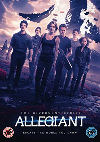 Poster of Allegiant 2016 Full English Movie Download BluRay 1080p