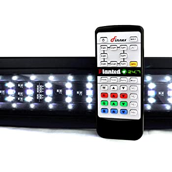 Best LED Lighting for Planted Tank Review. 1. Finnex Planted+ 24/7 Fully Automated Aquarium LED  sc 1 st  Best Fish Tank Filters & Best LED Lights for Planted Tank 2017 - Reviews u0026 Guide azcodes.com