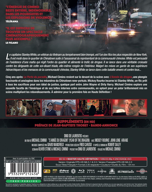 75e81ba2e57f9 Amazon.com: Year of the Dragon (L'Annee Du Dragon) [Blu-ray] Restauration  HD: Movies & TV
