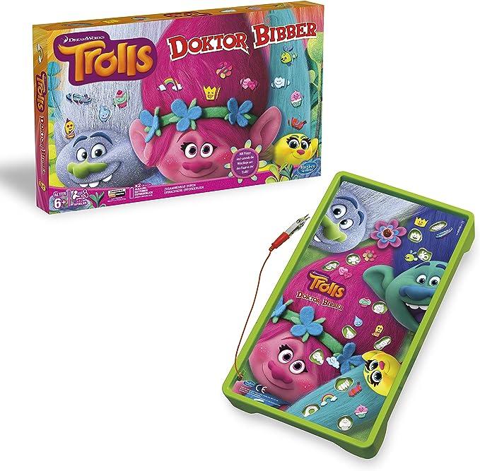 Hasbro Juegos b9180100 Trolls Dr. Bibber, Preescolar Parte: Amazon.es: Juguetes y juegos