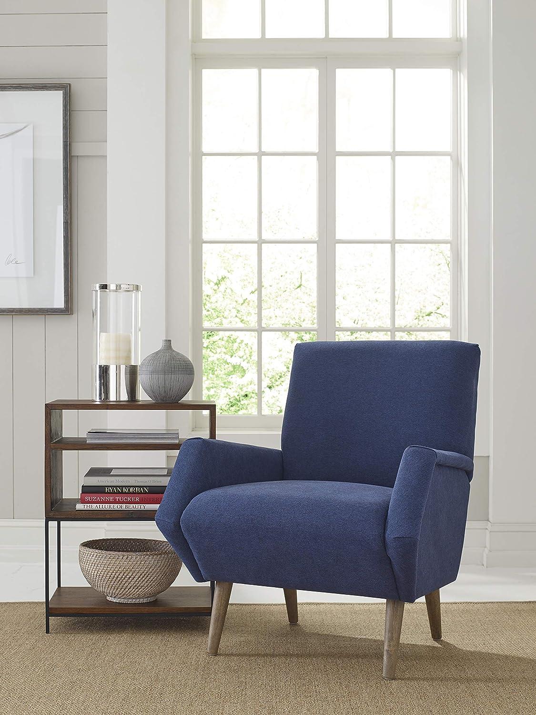 Pleasing Finch Uph10026A Avalon Accent Chair Blue Machost Co Dining Chair Design Ideas Machostcouk