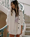 The Drop Women's Ivory Oversized Button Down Overshirt by @spreadfashion