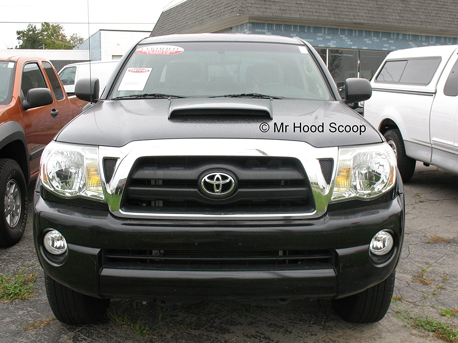 Xtreme Autosport Unpainted Hood Scoop Compatible with 1995-2018 Toyota Tacoma by MrHoodScoop HS003