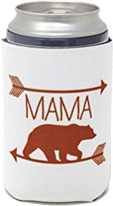 Funny Guy Mugs Mama Bear Collapsible Neoprene Can Coolie - Drink Cooler