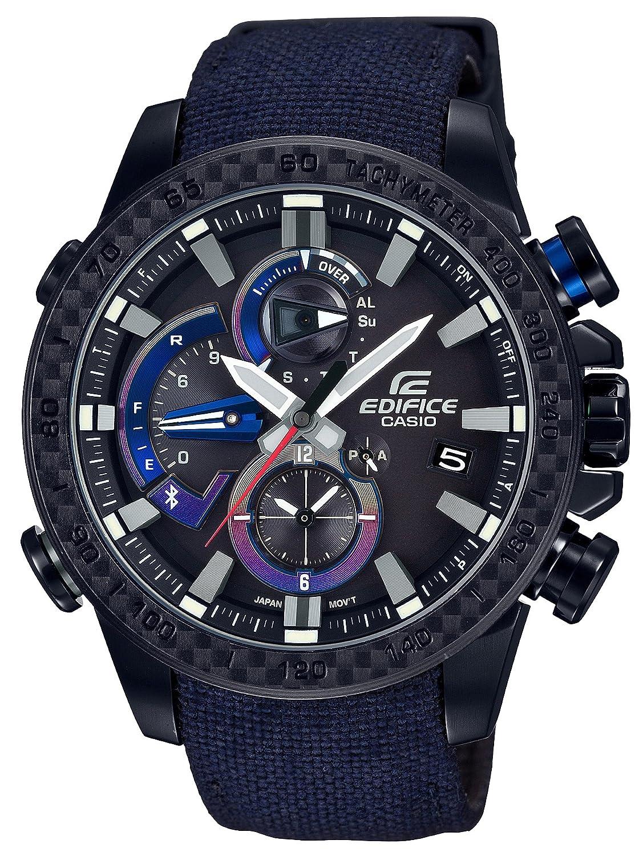 [カシオ]CASIO 腕時計 エディフィスScuderia Toro Rosso Limited Edition RACE LAP CHRONOGRAPH スマートフォンリンクモデル EQB-800TR-1AJR メンズ B0753DSGZQ