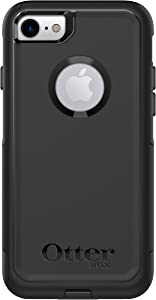 OtterBox COMMUTER SERIES Case for iPhone 8 & iPhone 7 (NOT Plus) - Frustration Free Packaging - BLACK