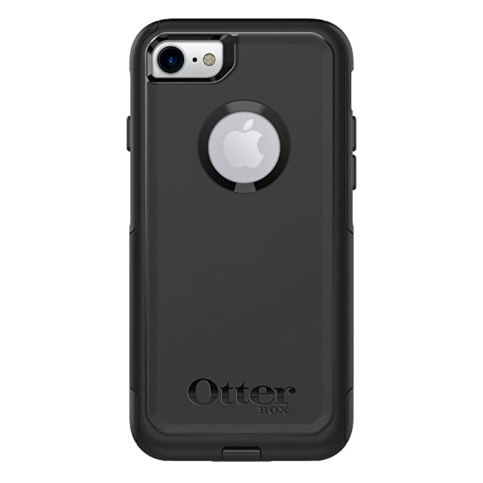 purchase cheap c0515 31504 OtterBox COMMUTER SERIES Case for iPhone 8 & iPhone 7 (NOT Plus) -  Frustration Free Packaging - BLACK