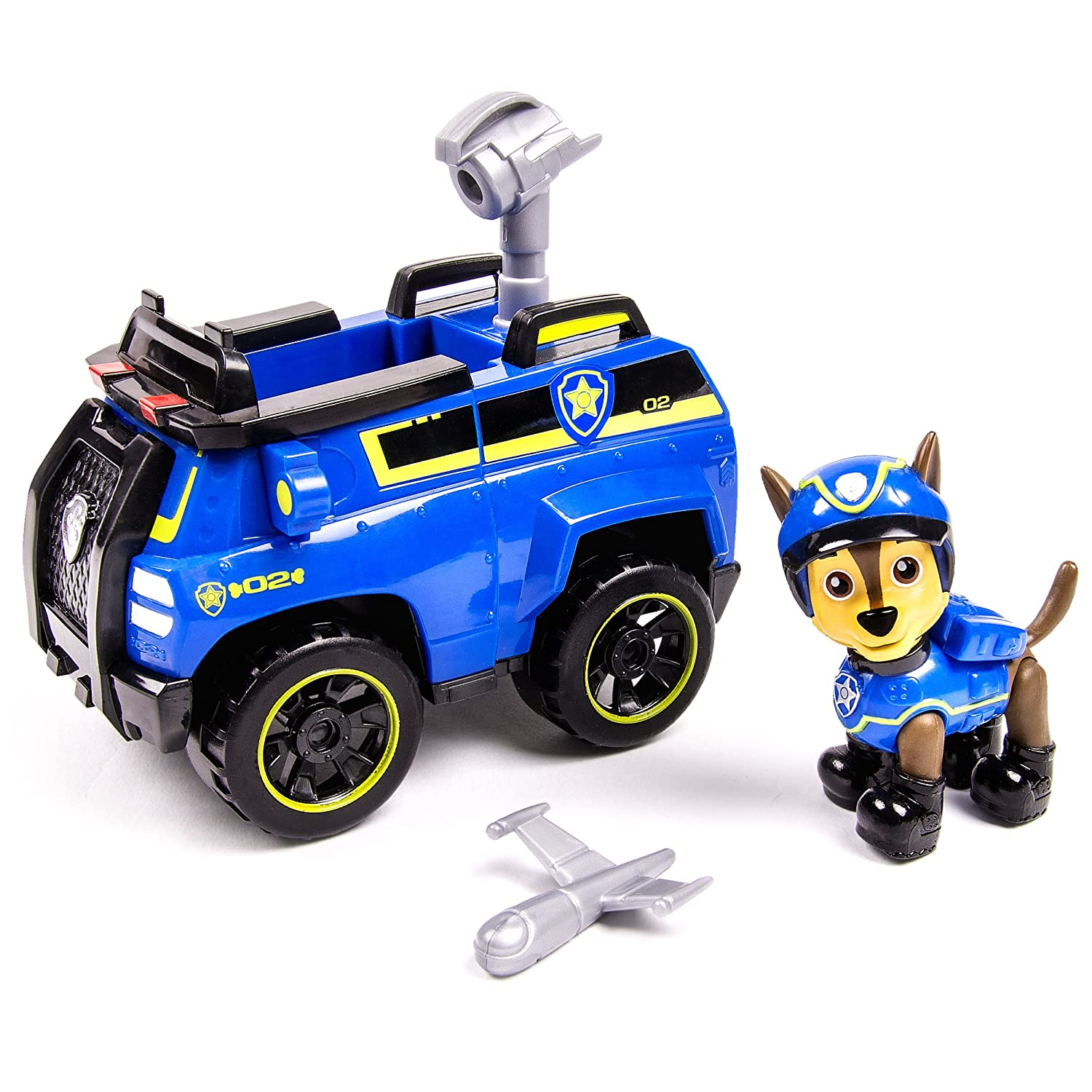 Paw Patrol Basic Vehicle - Chase's Spy Cruiser Paw Patrol Basic Vehicle - Chase's Spy Cruiser Spin Master 6027647