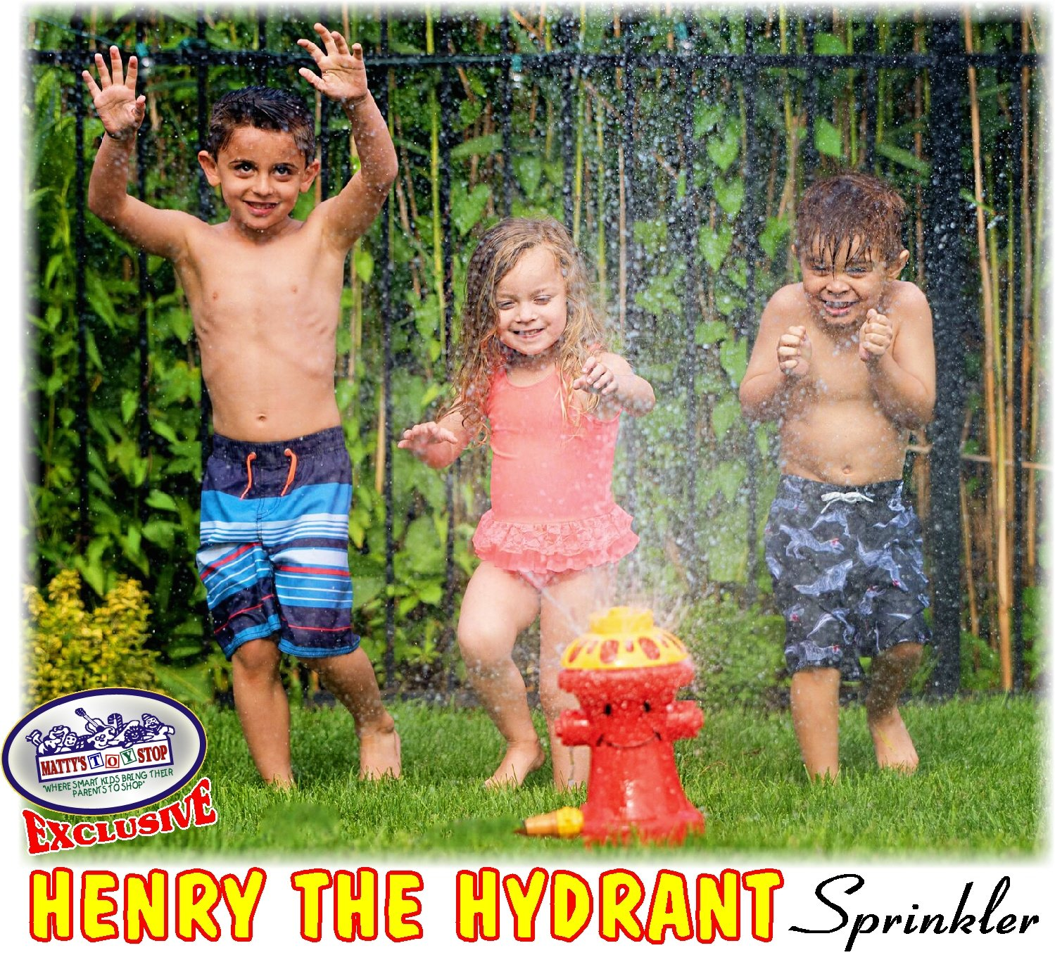 Matty's Toy Stop Henry The Hydrant Water Sprinkler for Kids