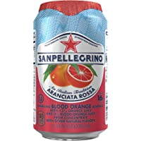 Sanpellegrino 24-Pack of 11.15 fl oz. Cans Blood Orange Sparkling Fruit Beverage