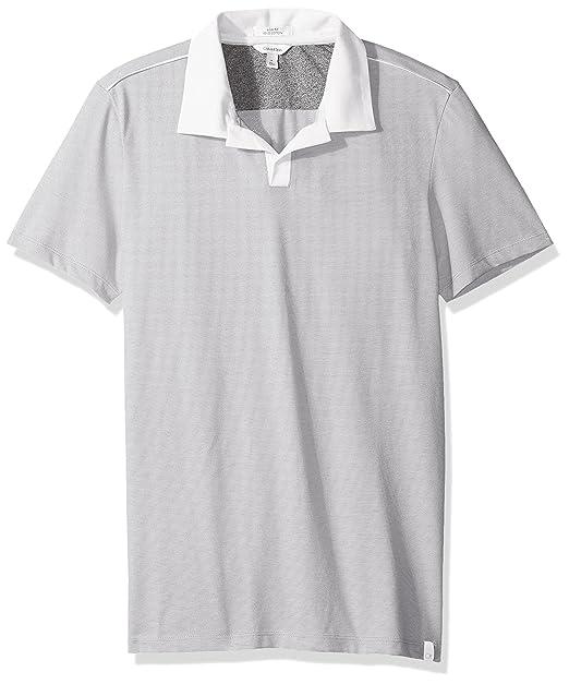 Calvin Klein - Polo de algodón líquido para Hombre  Amazon.com.mx ... b577fc3ff6416