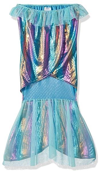 Amazon.com: mud pie bebé niñas disfraz cola de sirena, azul ...