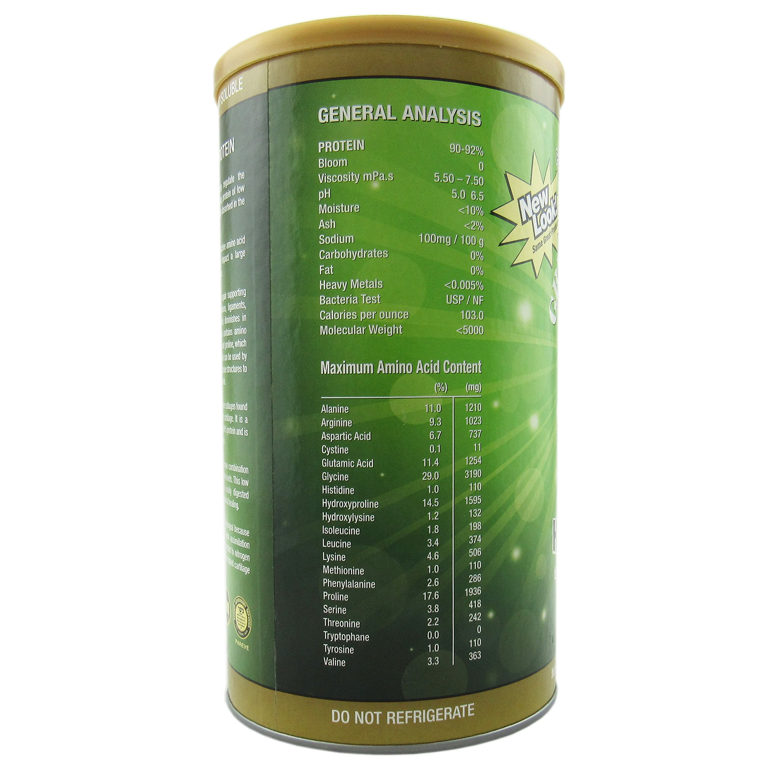 Great Lakes Gelatin Co., Collagen Hydrolysate, Bovine, 16 oz (454 g) - 2pcs by Great Lakes (Image #4)