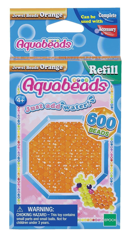 Aquabeads - 32678 - Recharge Perles à Facettes - Orange Epoch AB32678
